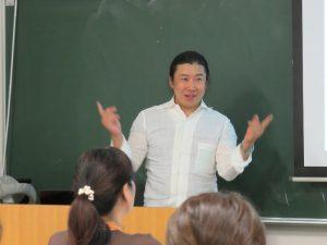 授業風景 渥美由喜氏