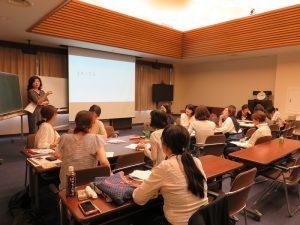 授業風景 高田 朝子氏「貴女のリーダーシップのあり方を考える、作る」