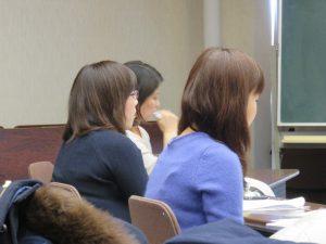 授業風景「女性リーダーが使えるビジネス関連の法律」 第4回