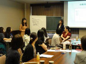 2018年5月19日 授業風景 「女性のエンパワーメントとリーダーシップ」 第2回 近藤 美樹 氏