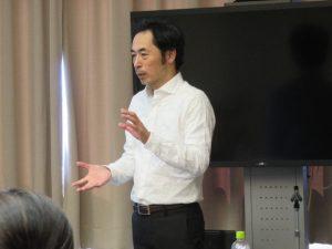 2018年11月17日 授業風景 「マーケティング入門」第1回 神原 理 氏