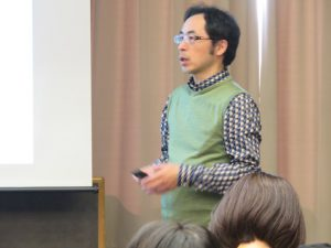 2018年11月17日 授業風景 「マーケティング入門」第2回 神原 理 氏