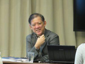 2019年2月23日 授業風景 「女性リーダーが使えるビジネス関連の法律」第3回 汐崎浩正氏