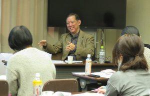 2019年2月2日 授業風景 「企業と法律」第1回 汐崎浩正氏